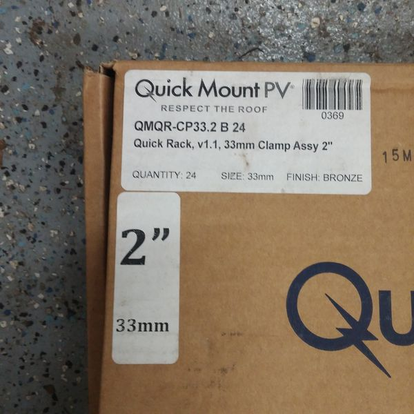 Quick mount PV roof clamps for Sale in Gainesville, FL - OfferUp