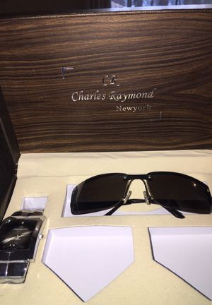 Charles Raymond glasses and watch for Sale in Oakton, VA