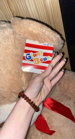 3 Foot Bear Still Has Tags Thumbnail
