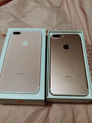 Rose gold IPhone 7 plus for Sale in San Antonio, TX