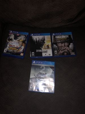 Used but playable games all in great condition for Sale in Washington, DC