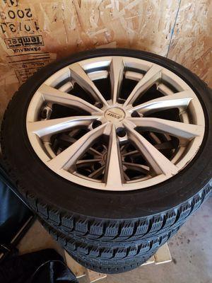Bridgestone Blizzak ws60 225/45r17 for Sale in Danvers, MA