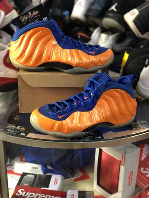 Air Foamposite One Knicks size 10.5 for Sale in Silver Spring, MD