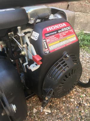 It S Sold Honda Harmony En 2500 Generator For In Houston Tx Offerup