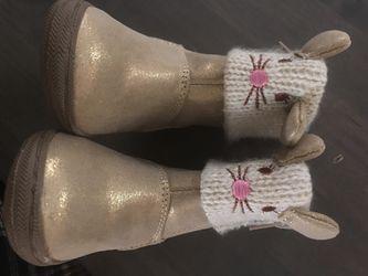 Size 4 koalaKids boots girls Thumbnail
