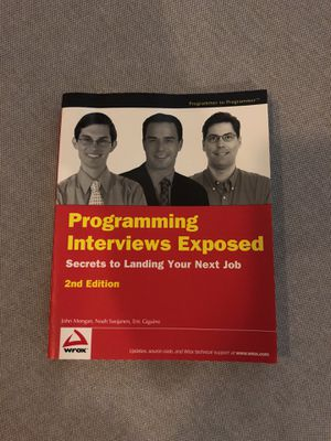 Programming interviews exposed for Sale in San Francisco, CA