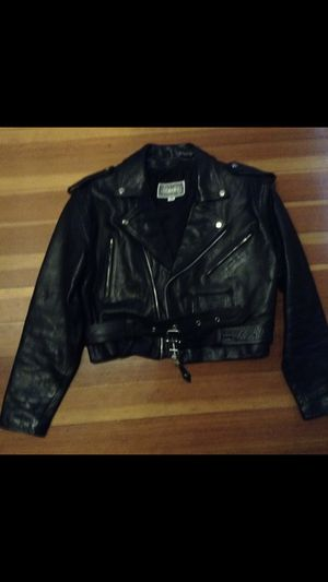 Woman's leather jacket size M for Sale in Boston, MA
