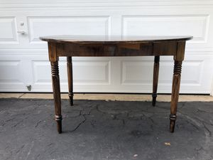 Solid wood dining table for Sale in Sterling, VA