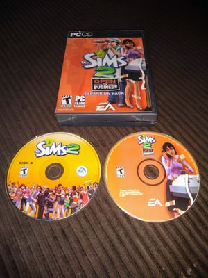 """Sims 2 """"Open for Business"""" for PC for Sale in Wildomar, CA"""