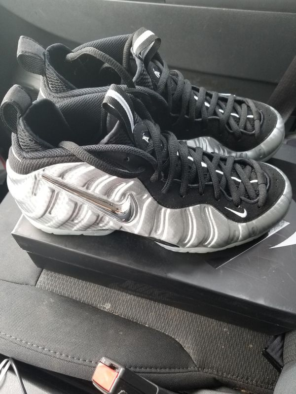 c6cfba97f7f24 Nike air foamposite pro silver surfers (Clothing   Shoes) in Charlotte