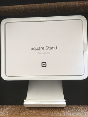 "Square Stand for iPad (2017,2018) iPad Pro 9.7"", and iPad Air with Contactless + Chip Reader and Dock Brand New in The Box for Sale in Chicago, IL"