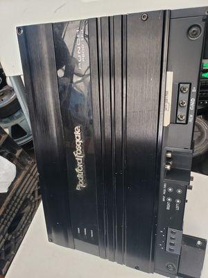 Photo Rockford Fosgate punch Amplifier Mono Block 1 channel