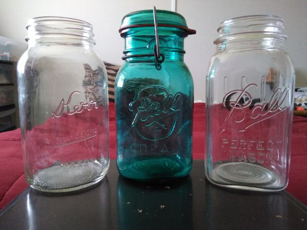 Old mason jars from the early 1900 s for Sale in Tempe 48d6a38cf22f