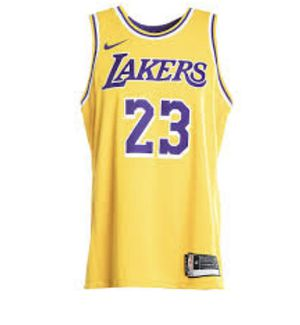 """watch b8dbb 13e3e Los Angeles Lakers LeBron James Jersey """"swingman"""" stitches for Sale in  Hillsboro, OR - OfferUp"""