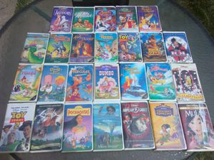 26 Classic Disney VHS tapes for Sale in Washington, DC