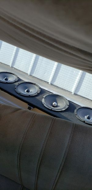 """Audio 4 Speaker 8"""" with panel for Sale in Orlando, FL"""