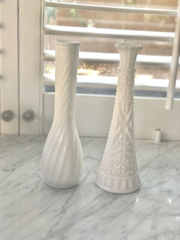 Vintage Milk Gl Vases for Sale in Phoenix, AZ - OfferUp on stencils for sale, home decor for sale, candlesticks for sale, storage for sale, coins for sale, figurines for sale, decorative teapots for sale, tiles for sale, jugs for sale, earrings for sale, plants for sale, statuary for sale, stationery for sale, pewter dragons for sale, glass vase sale, silver for sale, spoons for sale, vintage bowls for sale, pedestals for sale, glass for sale,