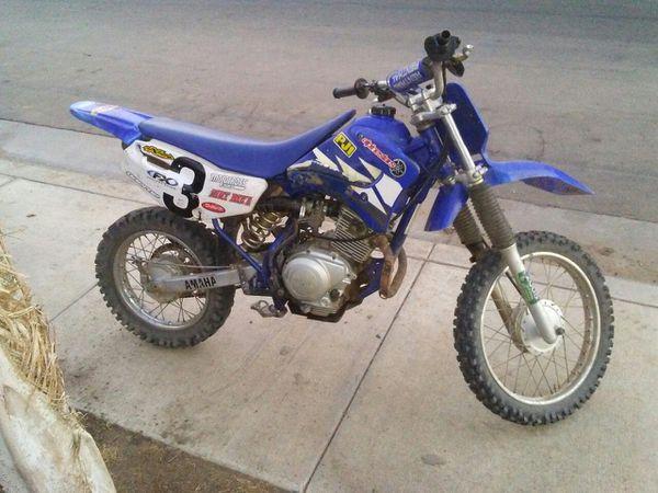 Yamaha 90cc Dirt Bike For Sale In Orange Cove Ca Offerup