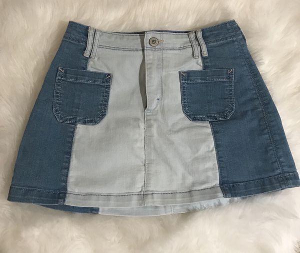 778dd211f Hollister jean skirt for Sale in Corona, CA - OfferUp