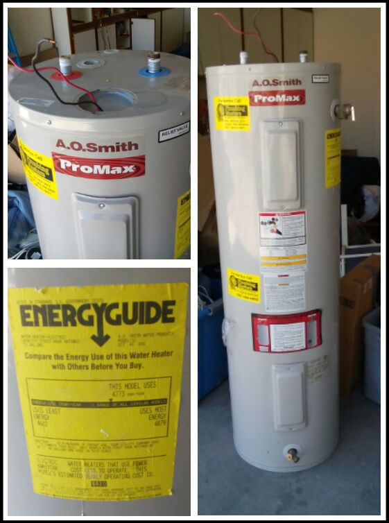 Used Electric Water Heater
