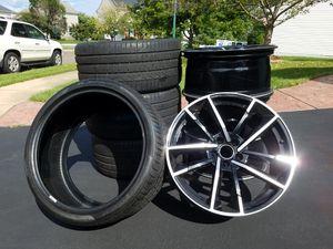 "Beatiful 20"" Sport Rims w 4 Pirelli Tires 275/30 ZR20 (97Y) 5 LUG Great Condition for Sale in Bristow, VA"