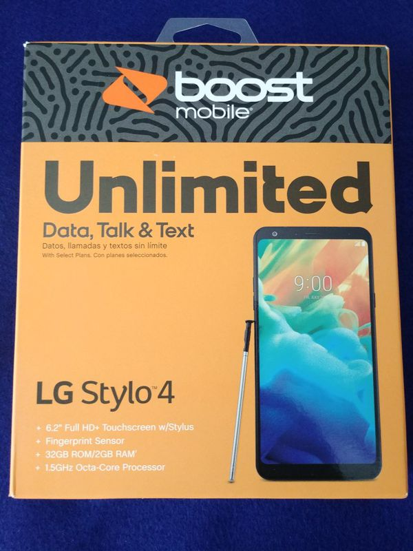 LG Stylo 4 - Boost Mobile for Sale in Raleigh, NC - OfferUp