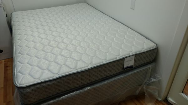 used queen mattress. New Never Used Sealy Queen Mattress Set. For Sale In Charlottesville, VA - OfferUp
