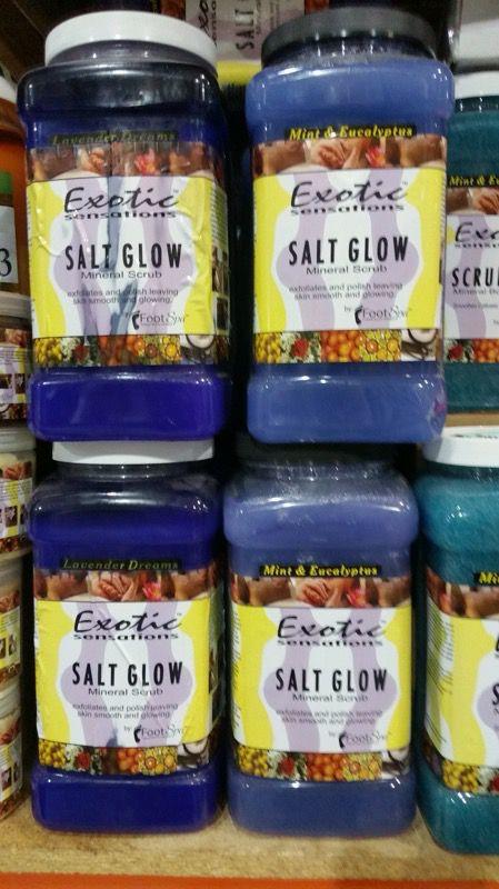 1 gal nail/beauty-massage oils/salt glows/scrubs gels/marine mask case quantity discount available