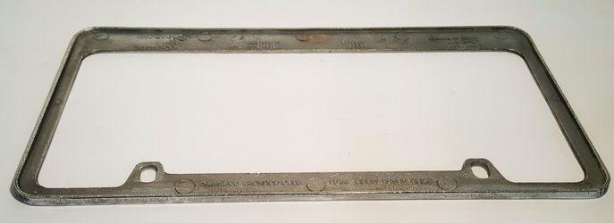Cherokee Chrome License Plate Frame  Thumbnail