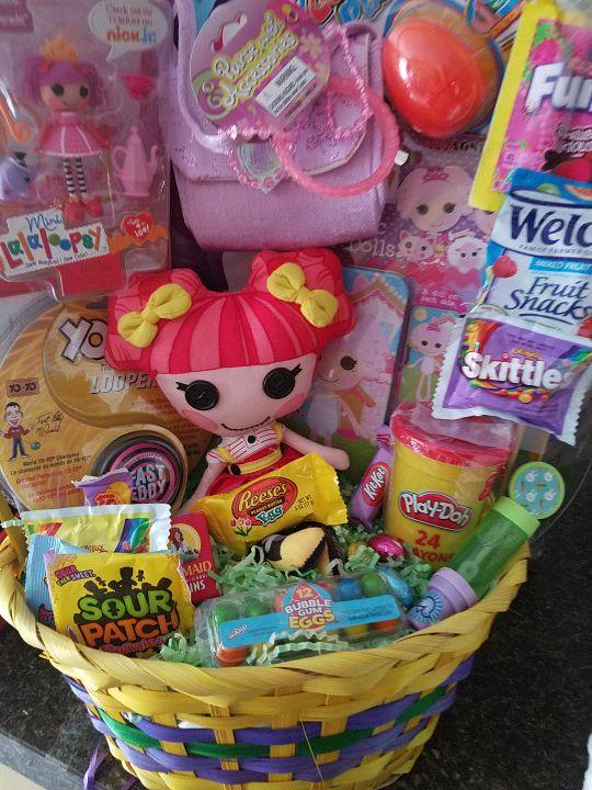 La la loops easter basket for sale in ontario ca offerup negle Choice Image