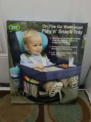 childrens play and snack tray waterproof for Sale in Orlando, FL