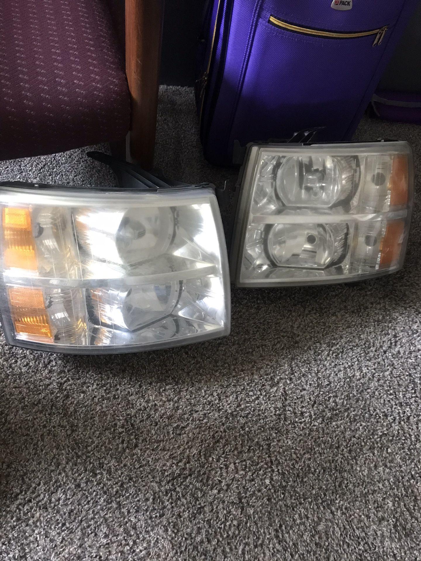 Chevy silverado headlights