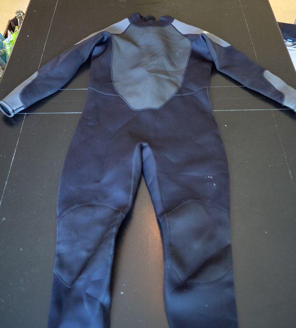 Aqua Lung Men\'s 3mm Quantum Stretch Full Suit - BLACK/GRAY - XXL for ...