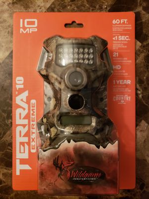 Wildgame Innovations Terra 10 Camera for Sale in Fort Worth, TX