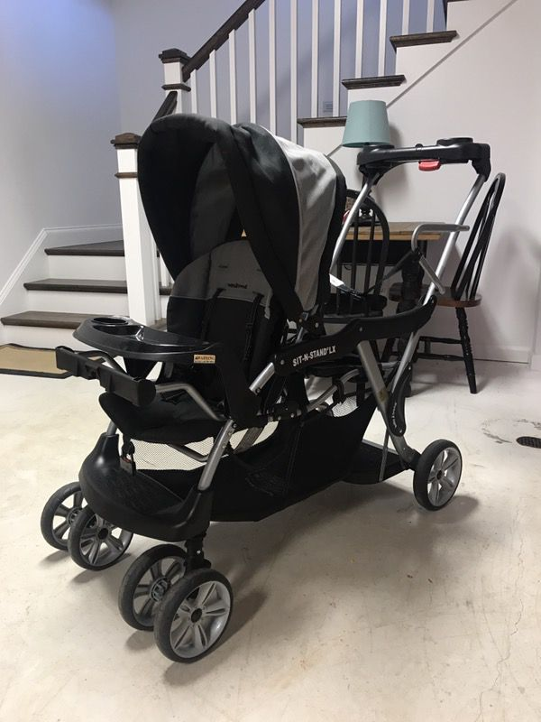 Baby Trend Infant Toddler Car Seat Double Stroller For Sale In