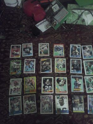 Vintage Football Cards (All are made in the 1990s or lower) for Sale in Fairfax, VA