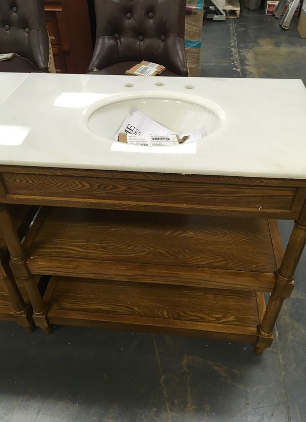 New 36 In Open Bath Vanity Cabinet With Top Sink For Dallas Tx Offerup