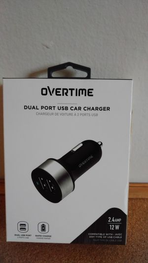 Usb car charger for Sale in Gaithersburg, MD
