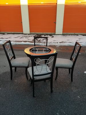 Table 4 chairs for Sale in Manassas, VA