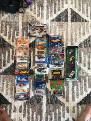 Photo Hot Wheels and Matchbox Cars