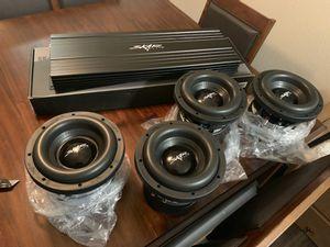 Photo (4) SKAR AUDIO ZVX-8 & 4500 SKV2 MONOBLOCK COMP AMP