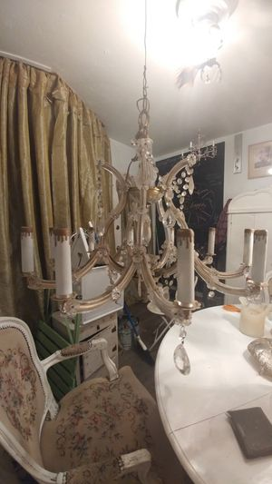 Large shabby chic chandelier for Sale in San Diego, CA