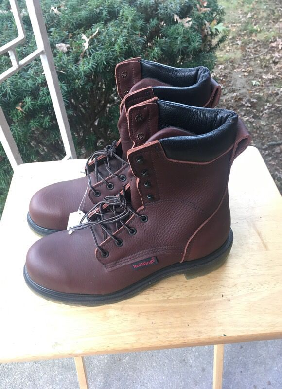 08bcf093410 NEW,UNWORN RED WING 2408 SUPERSOLE 2.0 WORK BOOTS SIZE 8D for Sale in  Framingham, MA - OfferUp