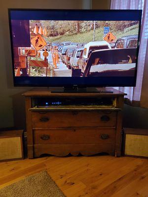 Photo Antique Dresser TV Stand