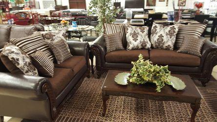 New Formal Sofa and loveseat set Thumbnail