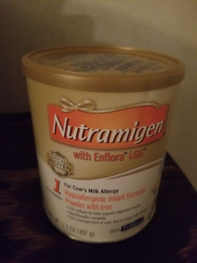 Baby formula Nutramigen