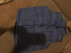 Kids gap blue puff vest very Warm size 10 for Sale in Washington, DC