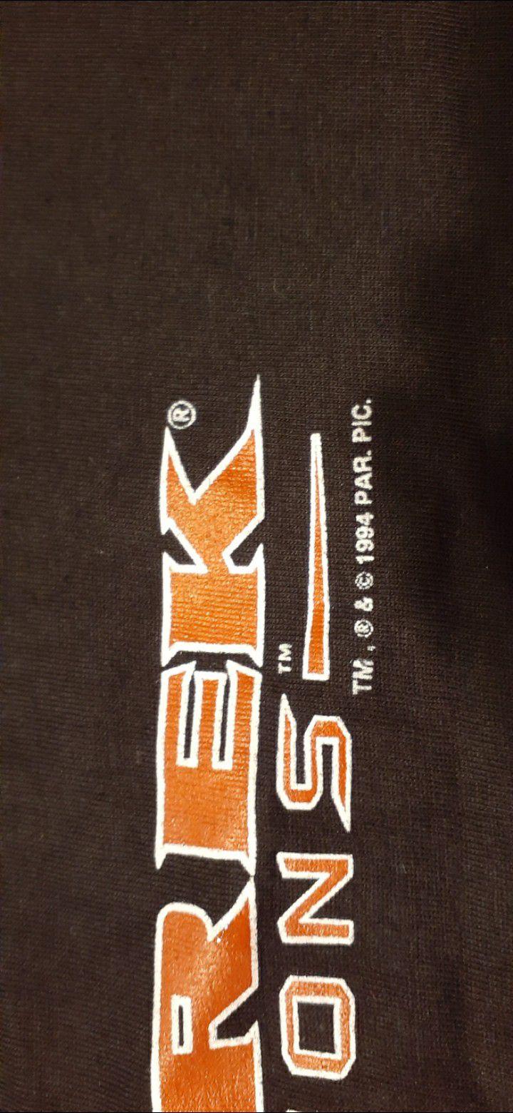 VINTAGE 1994 STAR TREK GENERATIONS Shirt Size XL