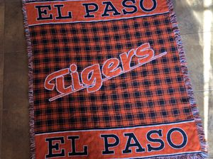El Paso high school El Paso tigers quilted blanket for Sale in El Paso, TX