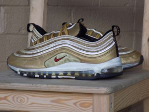 Nike air max 97 metallic gold for Sale in Annandale, VA